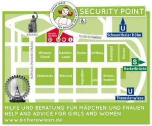 Lageplan Security Point